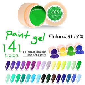 Nail Gel Painting 141 Colors