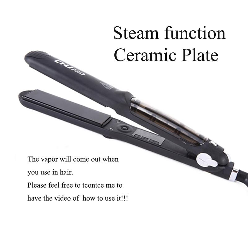 Professional Hair Straightener Vapor-Ceramic