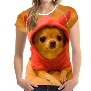 Woman Dog T-shirt