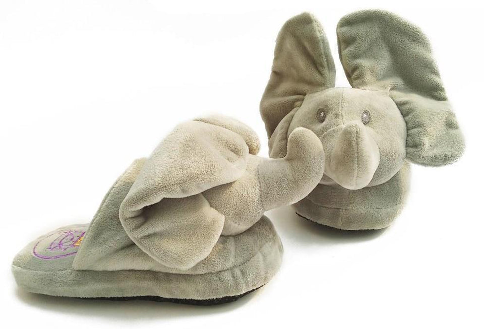 Peek A Boo Elephant Slipper