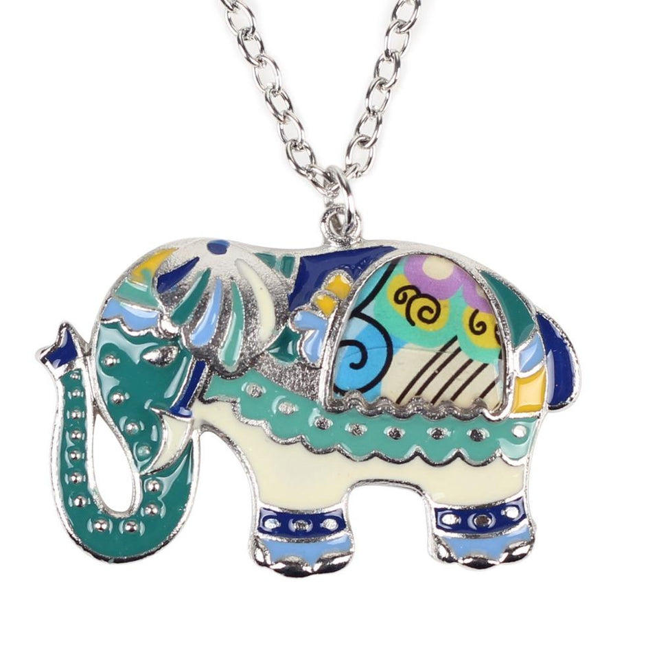 "Elephant Necklace Collection ""LOVE"""