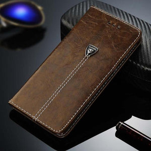 Luxury Leather Phone Case For iPhone