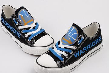 Golden State Warriors Canvas Shoes