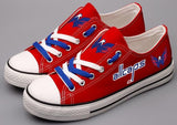 Washington Capitals Canvas Shoes (2 Styles To Choose From)