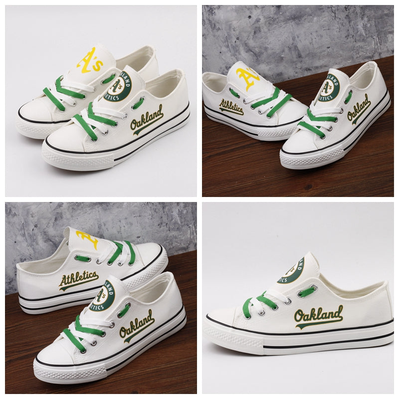 e2012d15c1571 Oakland Athletics Canvas Shoes
