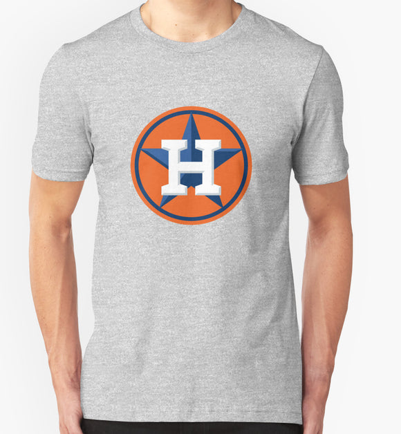 Houston Astros Logo Men's T-Shirts