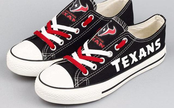 Houston Texans Canvas Shoes