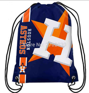 Houston Astros Drawstring Bag