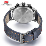 MINI FOCUS Men's Waterproof Leather Band