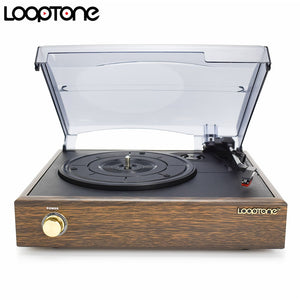 Looptone 3 Speed Retro Vinyl Record Player
