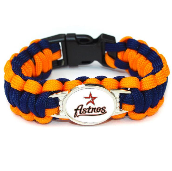 Houston Astros National League Weaved Bracelet