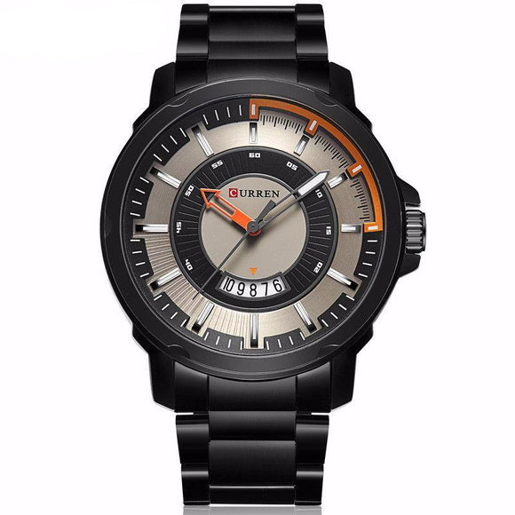 Curren Brand Luxury Sport Stainless Steel Watch - 5 Styles To Choose From