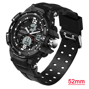 SANDA Digital Dial LED Quartz Sports Watch - 5 Styles To Choose From