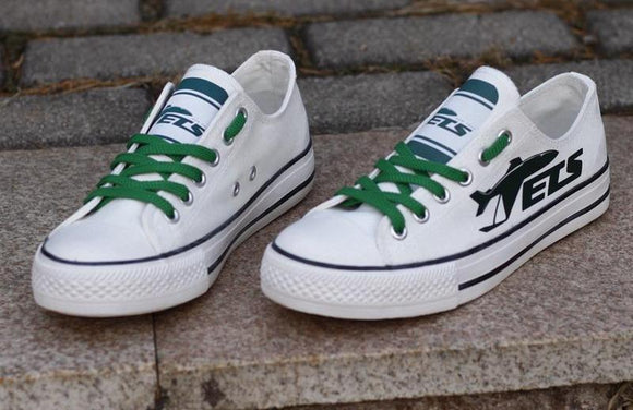 New York Jets Canvas Shoes