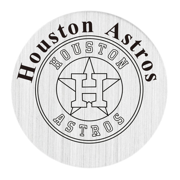 Houston Astros Floating Glass Locket (20 Pieces Per Order)