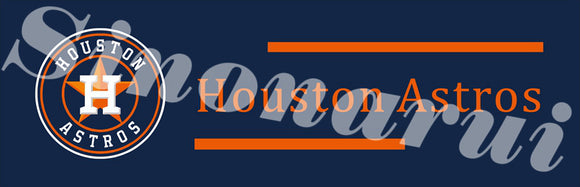 Houston Astros Tailgate Banners 60 X 240 cm