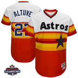 Men's Houston Astros Jose Altuve Jersey - 5 Colors To Choose From