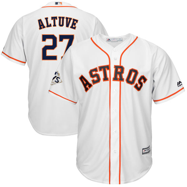 pretty nice 031f3 a5519 Men's Houston Astros Jose Altuve Navy Blue, Orange, Or White Jersey