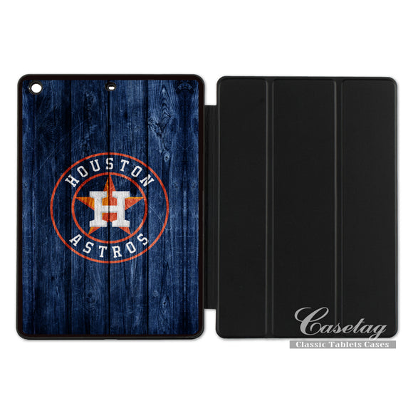 Houston Astros Sport Baseball Club Smart Cover Case For Apple iPad 2 3 4 Mini Air 1 Pro 9.7