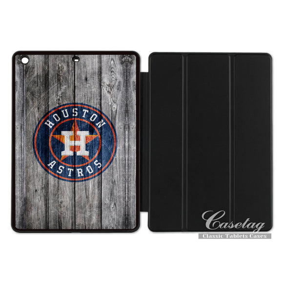 Houston Astros Smart Cover Case For Apple iPad 2 3 4 Mini Air 1 Pro 9.7