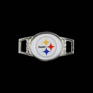 Pittsburgh Steelers Shoelace Buckle Charm