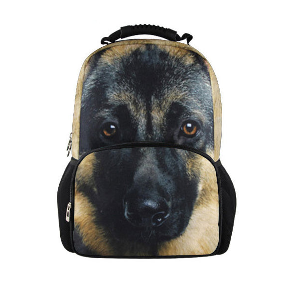 German Shepherd Superbowl Game-Day Backpack