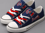 Atlanta Braves Canvas Shoes