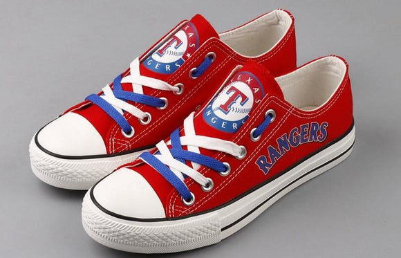 Texas Rangers Canvas Shoe
