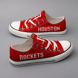 Houston Rockets Canvas Shoes (2 Styles Available)