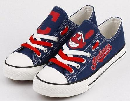 Cleveland Indians Canvas Shoes