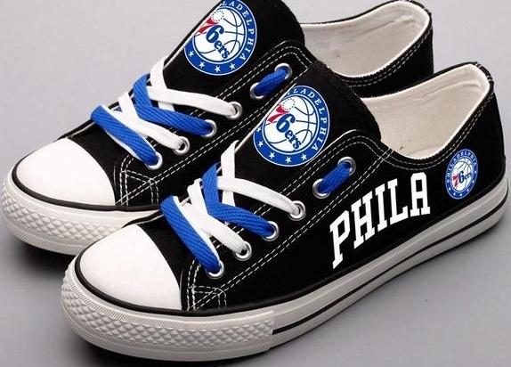 76ers Canvas Shoes