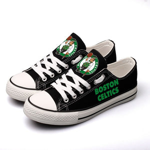Boston Celtics Canvas Shoes (3 Styles To Choose From)