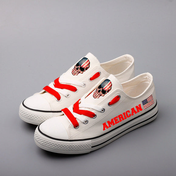 American Pride Canvas Shoes (5 Styles To Choose From)