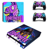 Fortnite Battle Royale Vinyl Decal Protective Skin Cover Sticker (PS4 Slim Console & Controller)
