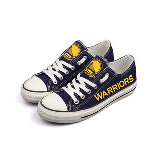 Golden State Warriors Canvas Shoes (3 Styles To Choose From)