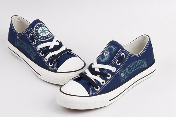 Seattle Mariners Canvas Shoes (2 Styles To Choose From)