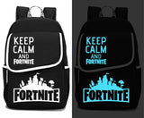 Keep Calm & Fortnite Backpack