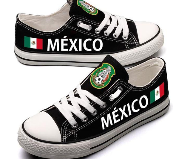 Mexico Soccer Canvas Shoes