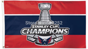 Washington Capitals 2018 Stanley Cup Champions Flag/Banner