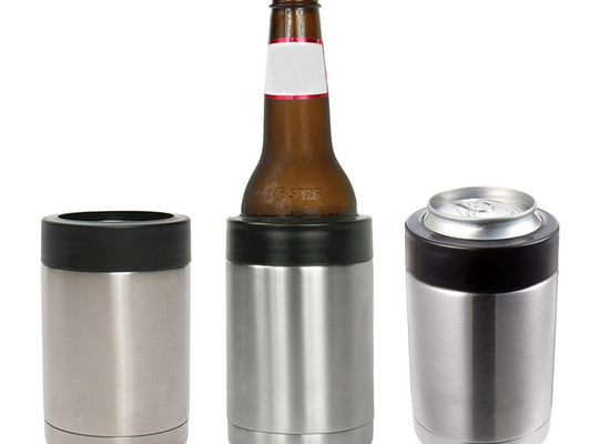 12 OZ Stainless Steel Beer Bottle Cold Keeper
