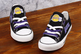 Los Angeles Lakers Canvas Shoes