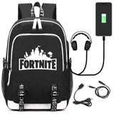 Fortnite USB Teen Universal Backpack (4 Styles To Choose From)