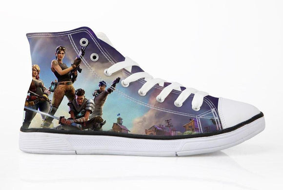 Fornite Canvas Shoes For Kids