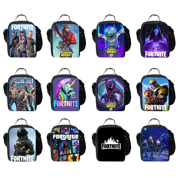 Fortnite Lunch Tote (12 Styles To Choose From)
