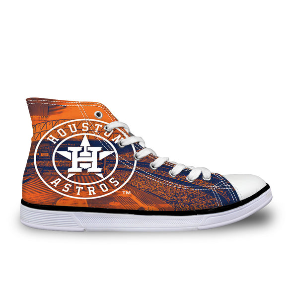 Houston Astros Hi-Top Shoes (6 Styles To Choose From)