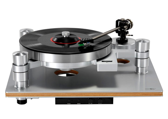 Retro Vinyl Record Player (Magnetic Suspension)