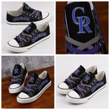Colorado Rockies Fan Shoes