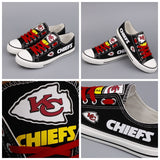 Kansas City Chiefs Fan Shoes (2 Colors To Choose From)