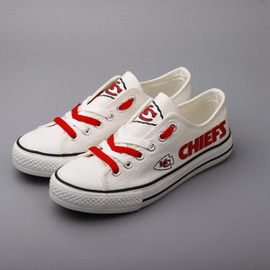 KC Chiefs Fan Shoes 2 (Glow In the Dark Option Available)