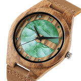 Men's Luxury Wooden Quartz Watch